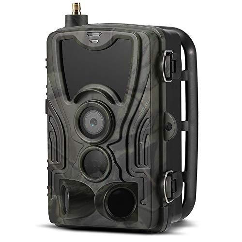 Roeam Wildkamera 16MP 1080P 2G MMS SMS Wildkamera mit Bewegungsmelder Nachtsicht, 36 IR-LEDs IP65 Wasserdicht 120 ° Weitwinkelobjektiv