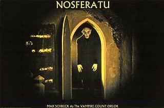 (24x36) Nosferatu Movie Max Schreck as the Vampire Count Orlok Poster Print