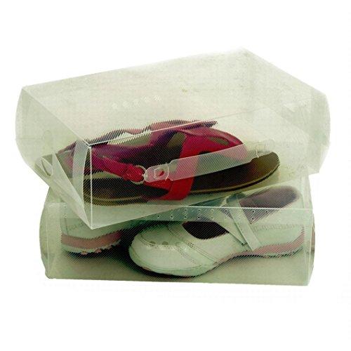 Lot de 2 boîtes de chaussures pour dames (pack de 2)