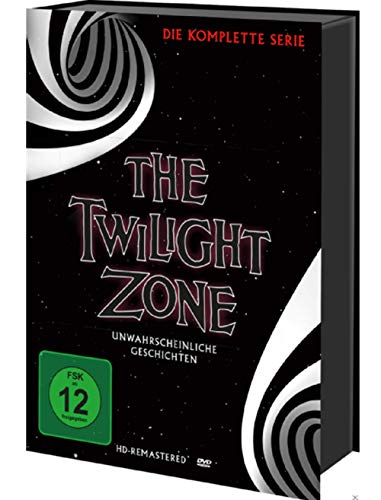 The Twilight Zone – Die komplette TV-Serie – 30 DVD Box
