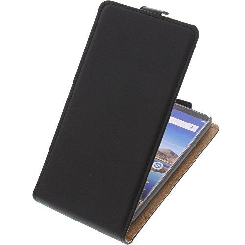 foto-kontor Tasche für Oukitel K5 Flipstyle Schutz Hülle Handytasche schwarz