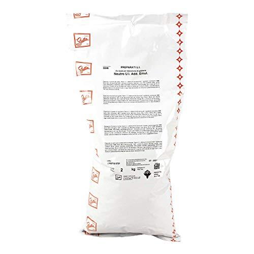 Neutro per Gelati con Farina di Guar e Semi di Carrube Addensante Emulsionante Stabilizzante 2 kg Senza Glutine