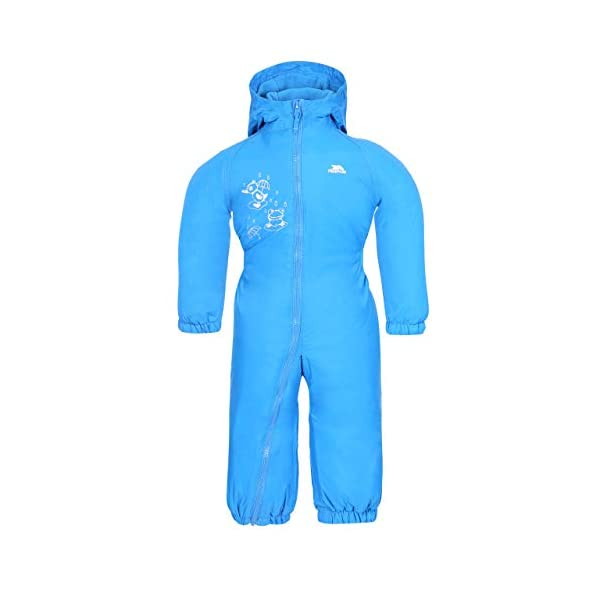 Dripdrop Boys Girls Waterproof Breathable Padded All in One Rain Suit
