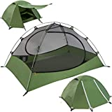 Clostnature Lightweight 3-Person Backpacking Tent - 3 Season Ultralight Waterproof Camping Tent,...