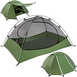 Clostnature 3 Season Lightweight Tent for 4-Person