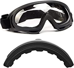 LUFF Protective Safety Glasses, Industrial Goggles Anti-Fog Scratch Resistance Anti-Chemical Splash Goggles Safety Goggles
