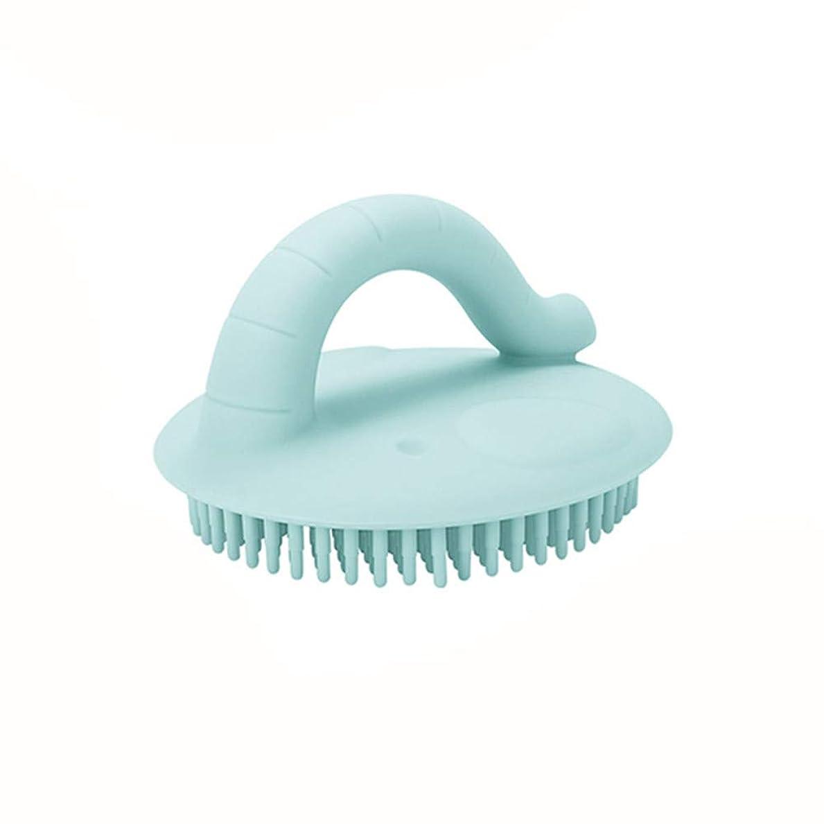 不適期待して学校シリコンバスシャワーブラシ、スキンエクスフォリエイティングボディスクラバー掃除が簡単ボディスクラバーベビーシャワーブラシクリーニングマッサージャー柔らかく快適