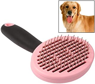 WTYD Pet Supplies Handy Dog Grooming Hair Brush Self-Cleaning Pet Comb with Automatic Hair-Release