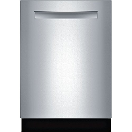 Bosch SHPM98W75N 800 Series 24 Inch Built In Fully Integrated Dishwasher with 6 Wash ...