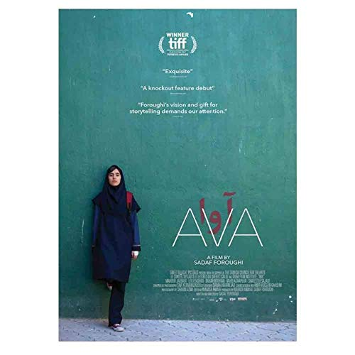 Ava Sadaf Foroughi Movie Poster Art Print Picture Canvas Painting Canvas Print Wall Art for Bedroom, Living Room,Wall Decor Home Decor50x70cm No Frame