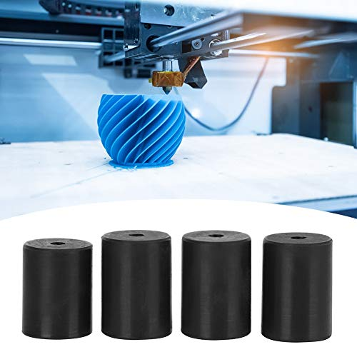 High Temperature Resistant Black Long Durability Convenient for Using High Quality Silicone Leveling Column, Printer Supplies, for 3D Printer Ender-2 3D Printer