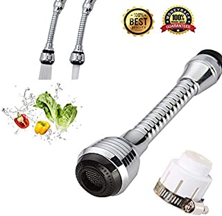 Click to open expanded view Universal Faucet Sprayer Head Extension Device Filter 360 Degrees Swivel, for Kitchen Sinks Sprayer Replacement Attachment, Laundry Sink Sprayer.Set of 1
