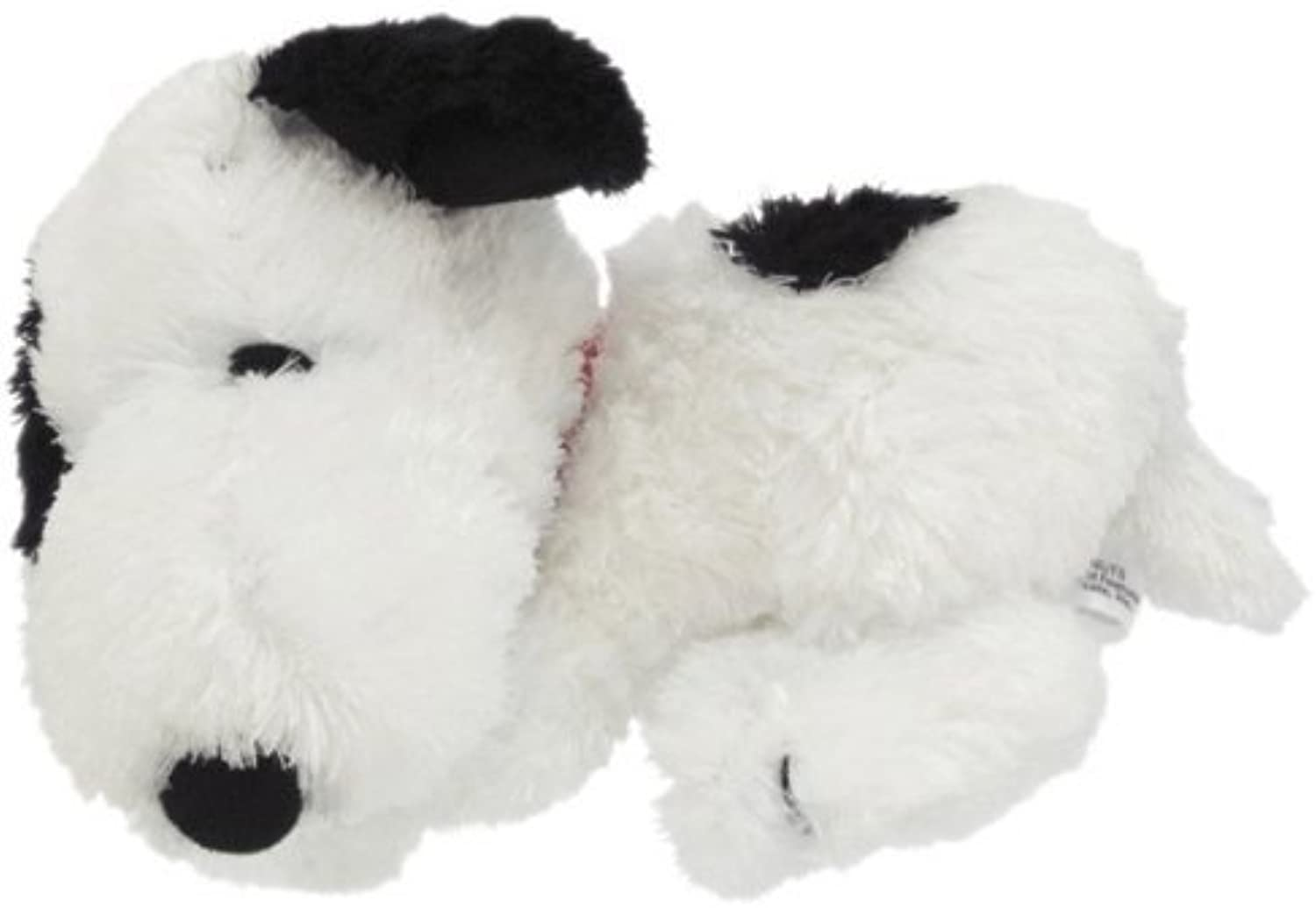 6 long and 3 tall Snoopy plush doll laying down by Snoopy