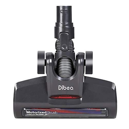 Louu Dibea d18 testa di pulizia motorizzata professionale nera per aspirapolvere portatile dibea d18 wireless stick portatile