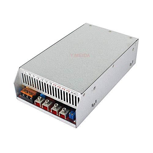 YI MEI DA Upgrade Switch Power Supply DC 12V 24V 36V 48V 60V 80V 24W 50W 72W 120W 150W 250W 360W 500W 600W 800W 1000W 1500W 1800W 2000W for LED Strip Lights etc. (1800W, 48V 37A)