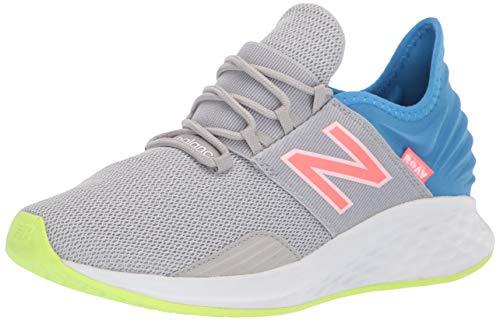 New Balance Women's Fresh Foam Roav V1 Sneaker, Rain Cloud/Light Cobalt/Munsell White, 5.5 Wide
