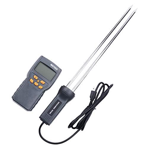 Digital Digitale Getreidefeuchtemessgerät MD7822 LCD Display Feuchtigkeit Tester Enthält Weizen Mais Reis Feuchtigkeitsmessung Messgerät präzise