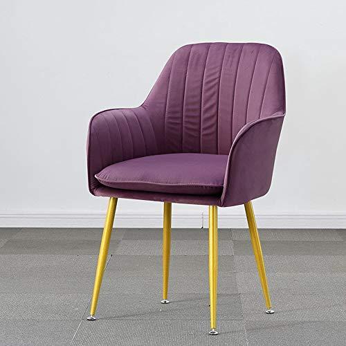 XIANGZHI Nordic eetkamerstoel, Modieuze creatieve nagelkunst make-up strijkstoel make-upstoel, moderne minimalistische home vrije tijd rugstoel, thuiscomputer stoel