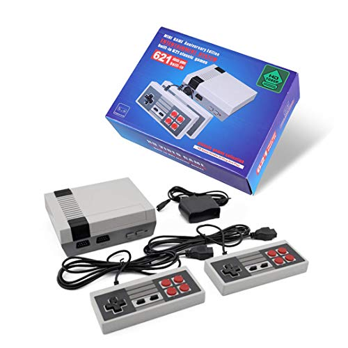 Classic Mini Gaming Konsole 2 Controller Built-in 621 TV Video Game HDIM - Ausgang