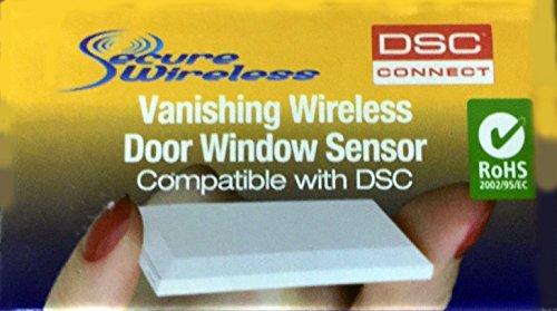 Tyco WIRELESS VANISHING DOOR/WINDOW CONTACT 5/8 MAGNET GAP EV-DW4975