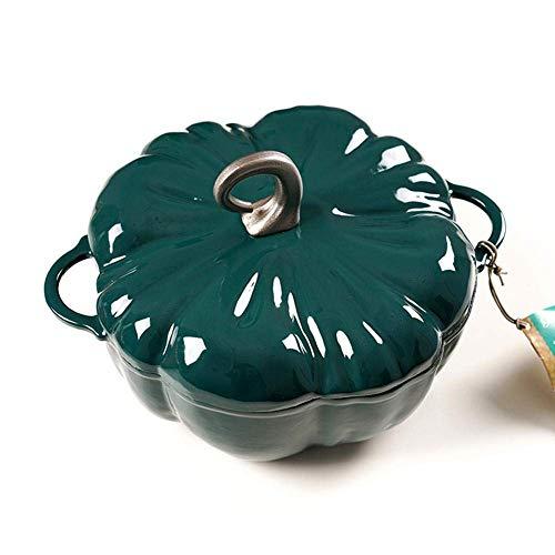 Emaillierte Gusseisen Dutch Oven Antihaft Pfanne Kürbis Eintopf Suppe Suppentopf Auflauf Nederlands Kochgeschirr Herd Kochen Küche-A_Kapazität 3,76 l