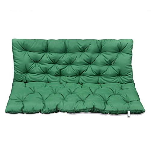 vidaXL Grüne Sitzauflage für Gartenschaukel 120 cm