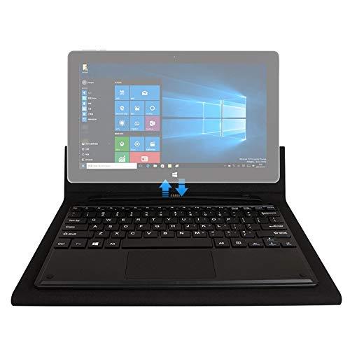 Hongyue Tablet PC Soporte magnético del Teclado Virtual for Jumper Ezpad 6 (Negro) (Color : Black)