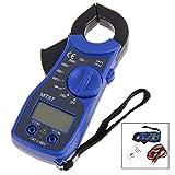 iwobi Multimetro Pinza, Multímetro Amperimetrica Profesional, Corriente Pinza Probador de Voltaje de Corriente CA/CC MT87