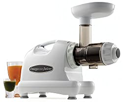 Omega J8004 Nutrition Center Quiet Dual-Stage Slow Speed Masticating Juicer