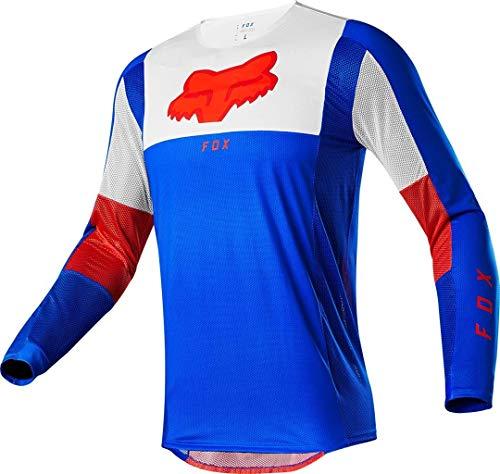 Fox Airline Pilr Motocross Jersey Blau/Rot XL