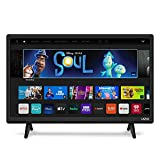 VIZIO 24 Inch Smart TV, D-Series Television LED HDTV with Apple AirPlay and Chromecast Built in & 150+ Free Streaming Channels (D24h-G9)