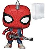 Marvel: Spider-Man - Spider-Punk Funko Pop! Vinyl Figure (Includes Compatible Pop Box Protector Case...