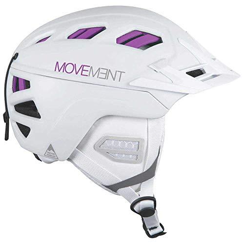 Movement W 3tech Freeride Helmet Blau-Weiß, Damen Fahrradhelm, Größe XS-S - Farbe White - Turquoise