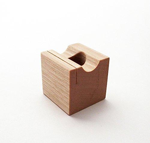 MokuPro 木製ペンスタンド 無垢材(カバ材)【 ONE-PEN-STAND 】 1本用ペン・メモ・カードスタンド 全3種類