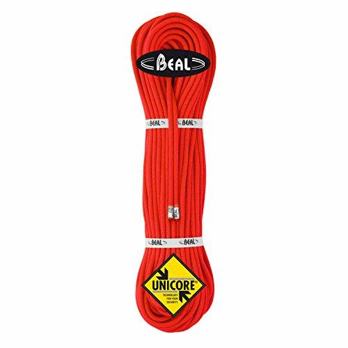 Beal Gully 7.3mm Unicore GOLDEN DRY (2 Seile) - Halbseil, Zwillingsseil, Länge:50m Golden Dry, Farbe:rot/grün