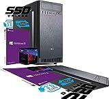 PC DESKTOP INTEL I7 8th Gen SIX CORE i7-8700 da 3,2 a 4,6GHz MB H310M HDMI DVI RAM 8gb DDR4 HD SSD 240GB GRAFICA UHD 4K WIFI 300MB CASE USB 3.0 LICENZA WINDOWS 10 PRO