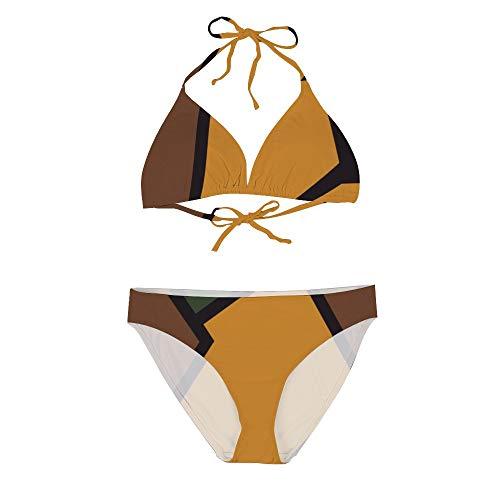 DKISEE Dames Bikini Set Twee Stukken Badpak Badmode Geometrische Borduurwerk Strand Zwembad Bikini Switsuit voor Vrouwen
