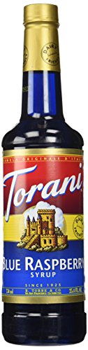 Torani Blue Raspberry Syrup, 750 mL