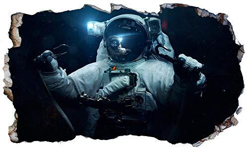 Wandtattoos 3D - Space Walk Astronaut Magic Fenster Wandkunst Kleber Aufkleber Tapete V7 * - 50×70CM