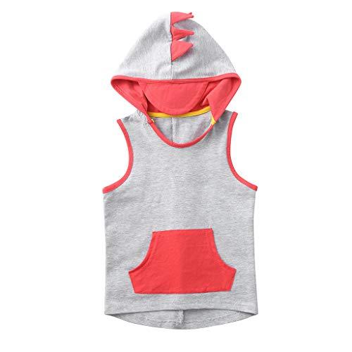 TWIFER_Tee-Shirt À Capuche Animal De Dessin Animé Dessus Sweat-Shirt Casual Enfant Enfants Bébé Garçon1 2 3 4 5 6 7 17 Ans Les magasins Ont