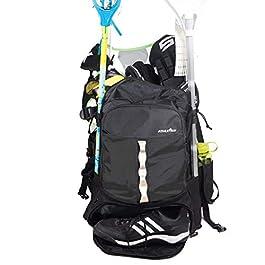 Athletico Sac à dos de lacrosse extra large – Peut contenir tous les équipements de lacrosse ou de hockey sur gazon…