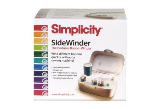 Simplicity SideWinder Portable Bobbin Winder, New