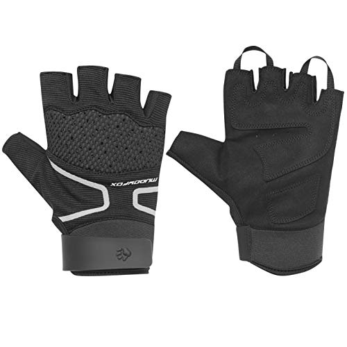 Muddyfox MTB Cycle Mittens Gloves Pairs Cycling Bicycle Accessories Sports Black/Grey/Red L