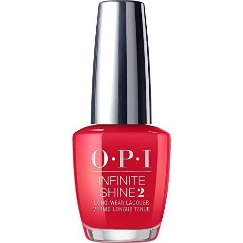 OPI Infinite Shine, Red Heads Ahead