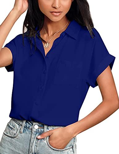 Camisa En V Mujer  marca Hotouch