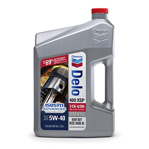 Delo 39146 400 XSP SAE 5W-40 Synthetic Motor Oil -...