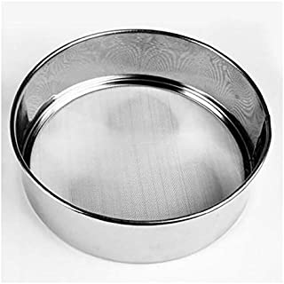 Round Stainless Steel Fine Mesh Flour Sifter or Sieve -24cm