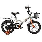 Axdwfd Infantiles Bicicletas 14/12/16/18 Pulgadas, Bicicleta For Niños, Adecuado For Niñas Y Niños De 2 A 13 Años, 3 Colores (Color : A, Size : 12in)