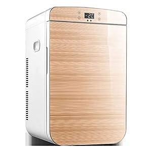 NMSLA Mini Bar 25L Portable Petit Camping Voiture réfrigérateur frigo congélateur Fridge Cooler Warme glacière électrique Silencieux pour Voyage Bureau dortoir Chambre Voiture