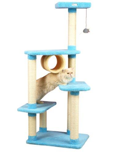 Armarkat Premium Cat Tree Model X6105, Sky Blue